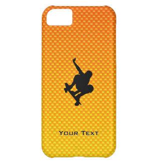 Yellow Orange Skateboarding iPhone 5C Case