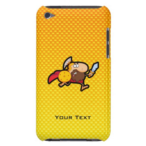 Yellow Orange Spartan Gladiator iPod Touch Case