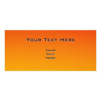 Yellow Orange Star Personalized Rack Card