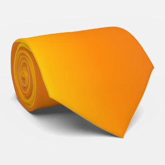 Yellow Orange Tie