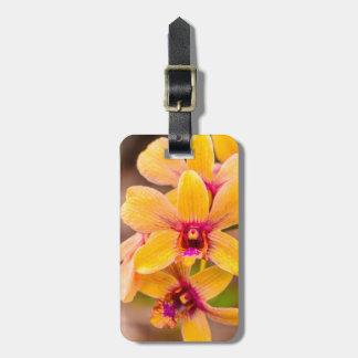 Yellow Orchid, Lawai, Kauai, Hawaii Luggage Tag