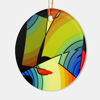 Yellow ornament for women