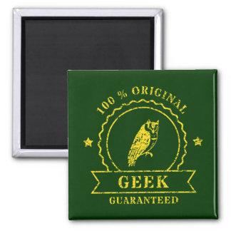 Yellow Owl Magnet