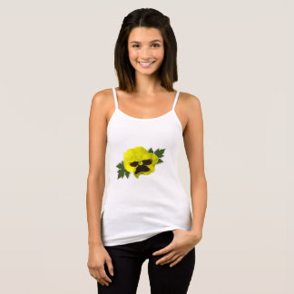 Yellow Pansies Singlet