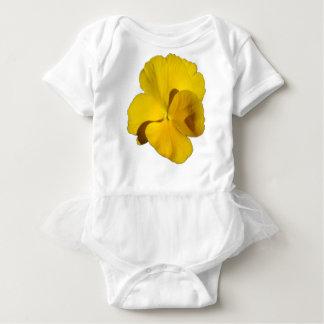 Yellow Pansy 201711f Baby Bodysuit