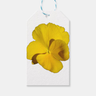 Yellow Pansy 201711f Gift Tags