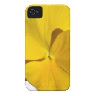 Yellow Pansy 201711f iPhone 4 Covers