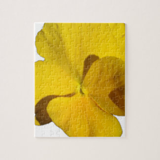 Yellow Pansy 201711f Jigsaw Puzzle