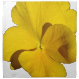 Yellow Pansy 201711f Napkin