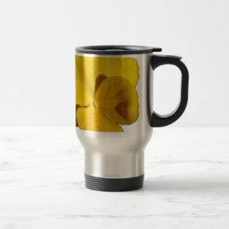 Yellow Pansy 201711f Travel Mug