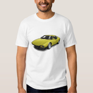 Yellow Pantera on White T-Shirt