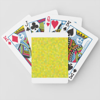 yellow pattern bicycle playing cards