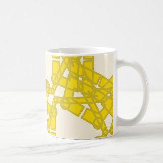 Yellow Pattern Mug