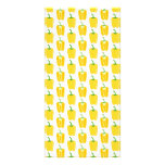 Yellow Pattern of Peppers. Picture Card