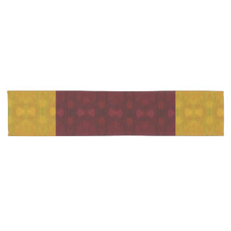 Yellow Pattern Table Runner