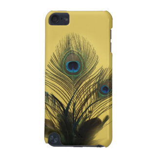 Yellow Peacock Feathers iPod Touch Speck Case