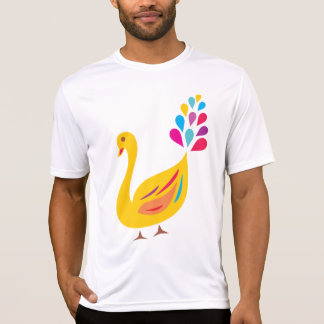 Yellow Peacock Mens Active Tee