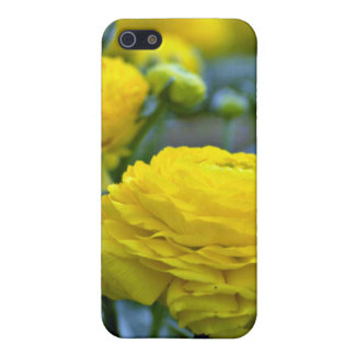 Yellow Peonies flowers iPhone 5/5S Covers