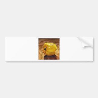 Yellow Pepper Bumper Sticker