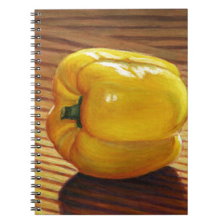 Yellow Pepper Notebook