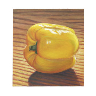 Yellow Pepper Notepad