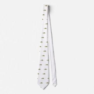 Yellow Perch Art Tie