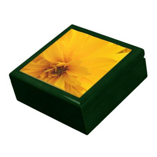 Yellow Petals Keepsake Box