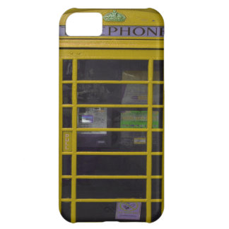 yellow phone booth iPhone 5C cases
