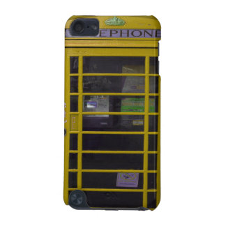 yellow phone booth iPod touch 5G covers