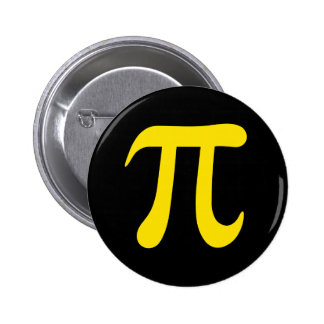 Yellow pi symbol on black background buttons