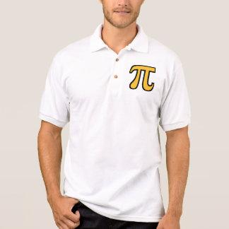 Yellow Pi symbol Shirts