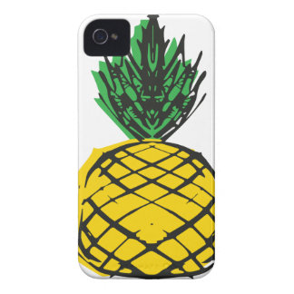 YELLOW PINEAPPLE iPhone 4 Case-Mate CASE