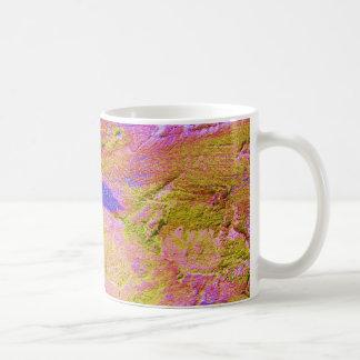 Yellow Pink Blue Crush Mug - Customizable Mugs