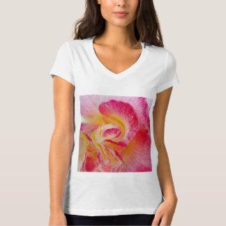 yellow pink petals T-Shirt