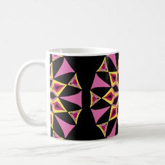 Yellow & Pink Star Mug