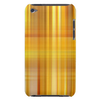 Yellow Plaid Barely There iPod Cover