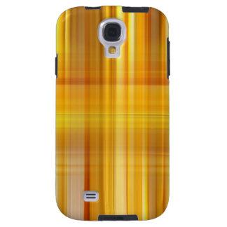 Yellow Plaid Galaxy S4 Case