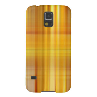 Yellow Plaid Galaxy S5 Cover