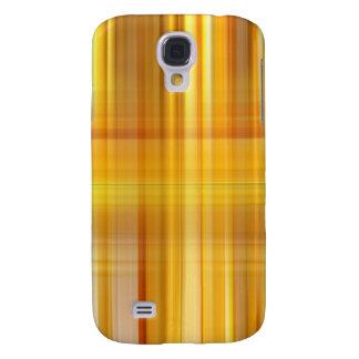 Yellow Plaid Samsung Galaxy S4 Case