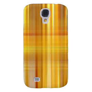 Yellow Plaid Samsung Galaxy S4 Cover