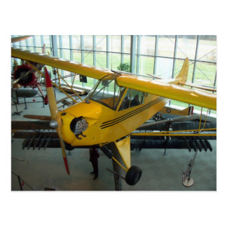Yellow Plane.  College Park Aviation Museum Postcard