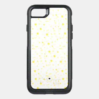 Yellow polka dot cute and stylish iPhone case