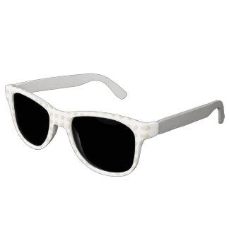 Yellow Polka Dot with Gray Sunglasses Summertime