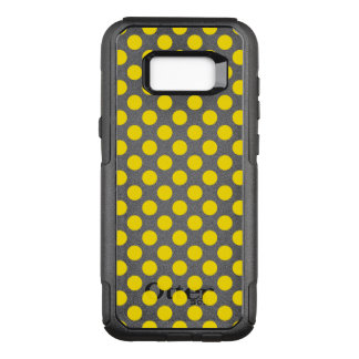 Yellow Polka Dots OtterBox Commuter Samsung Galaxy S8+ Case