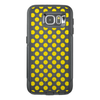 Yellow Polka Dots OtterBox Samsung Galaxy S6 Case