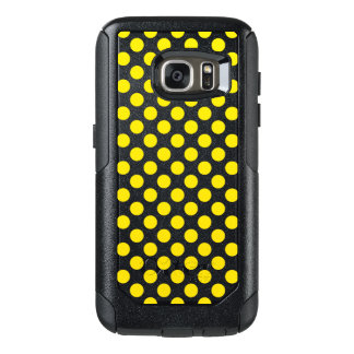 Yellow Polka Dots OtterBox Samsung Galaxy S7 Case
