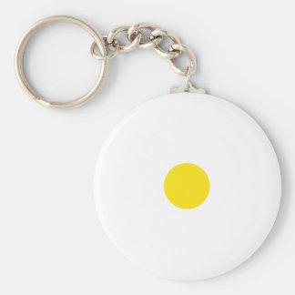 Yellow Polkadots Small Key Chains