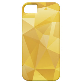 Yellow Polygon iPhone 5 Cases