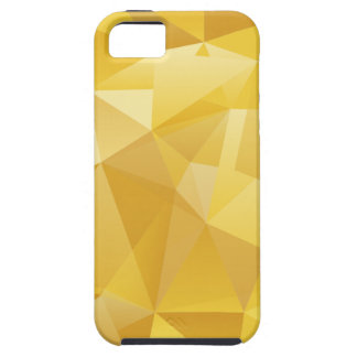 Yellow Polygon iPhone 5 Cover