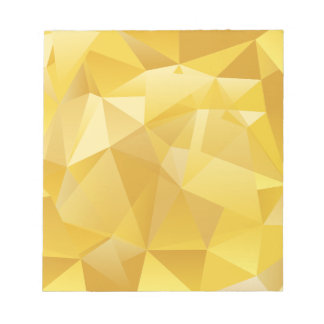 Yellow Polygon Notepad